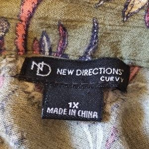 new directions Tops - {New Directions} Boho Top